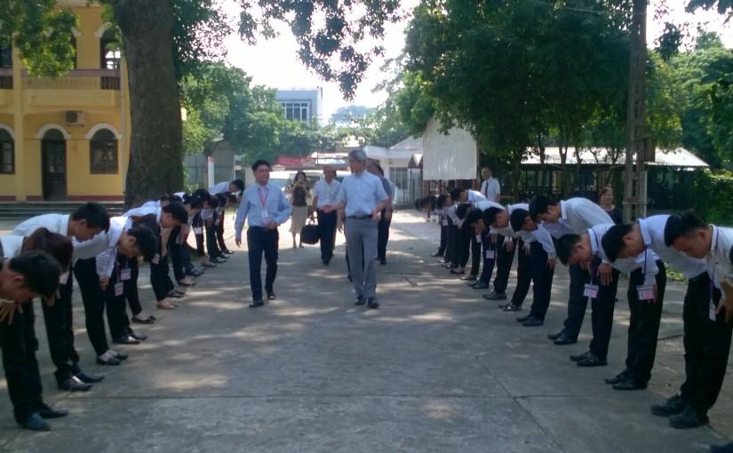 Đoàn lãnh đạo KOSEN, tổ chức JICA – Nhật Bản thăm và kiểm tra mô hình Kosen tại trường CĐCN Phúc Yên